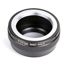 FOTGA Adapter for M42 Lens to Micro 4/3  E-P1 GF3 Olympus Panasonic  DSLR Camera