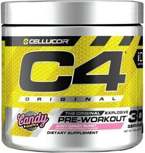 Cellucor C4 Original Pre Workout Powder - 30 Servings - Juicy Candy Burst