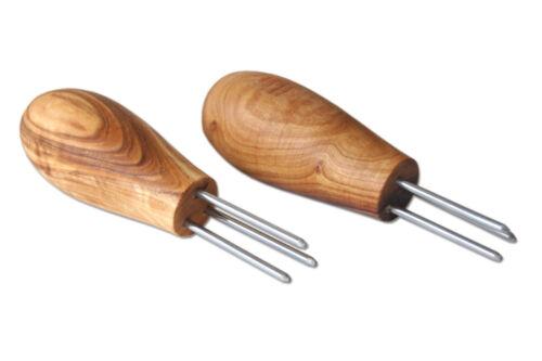 2er Set Maiskolbenhalter oder Kartoffelhalter