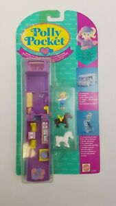 Puppen & Zubehör Neu Ovp Polly Pocket Stall Unterwegs Out N' About Bluebird Mattel 1994