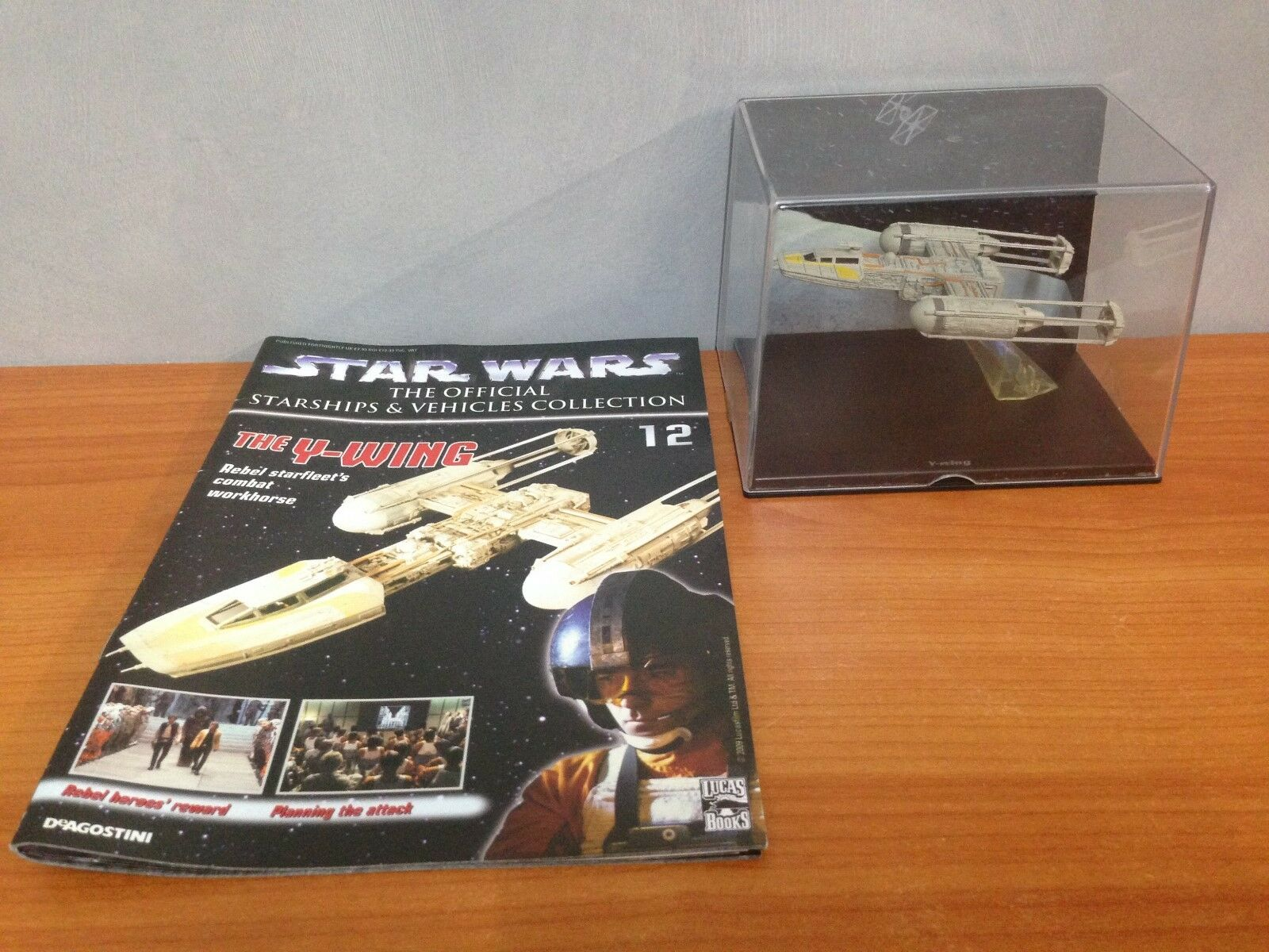 Star Wars Official Starships & Vehicles Coll No 12 - The Y-Wing
