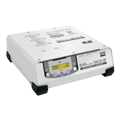 GYS 029415 Chargeur de batterie GYSFLASH 100.12 avec câble de 5 mètres