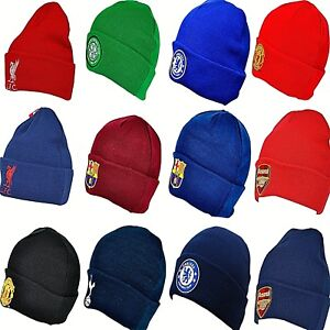 65d847bdc06 Image is loading OFFICIAL-CLUB-ADULT-CRESTED-FOOTBALL-TEAM-KNITTED-WOOLY-