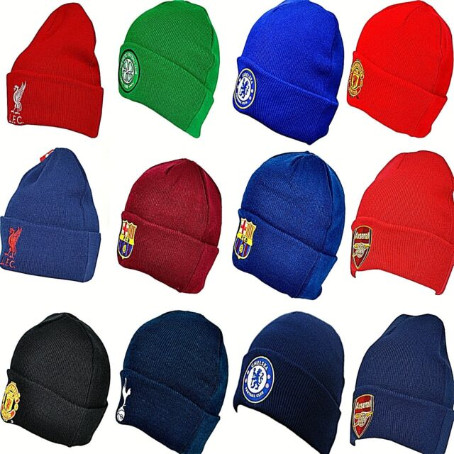 c09bd4fea OFFICIAL CLUB ADULT CRESTED FOOTBALL TEAM KNITTED WOOLY CUFFED BRONX BEANIE  HAT