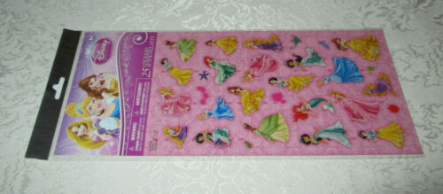 Stickers *XL 10.5 inches long sticker sheet* Disney Princess 25