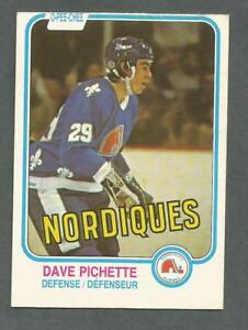 1981-82-OPC-O-Pee-Chee-Hockey-Dave-Pichette-280-Quebec-Nordiques-NM-MT