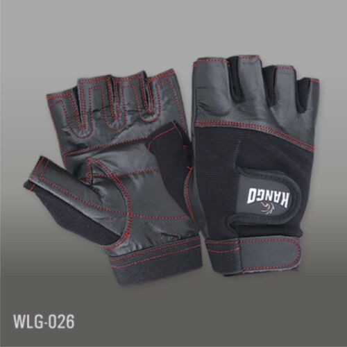 WEIGHT LIFTING TRAINING GYM LEATHER PADDED CYCLING SPORTS  WHEELCHAIR GLOVES