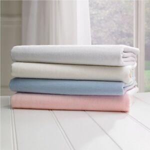 Crib-Jersey-Fitted-Cotton-Sheet-Cradle-Sheets-Pram-Swinging-Nursery-40-x-90-cm