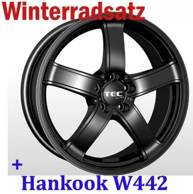 """15"""" AS1 MB Winterräder + 185/55 Winterreifen Hankook für Peugeot 306 Cabrio 7D"""