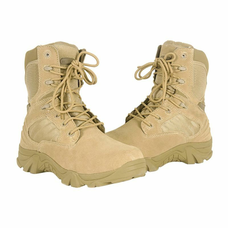 New Women Military Tactical Combat Ankle Boots Cordura Desert Army Hiking shoes