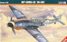 MESSERSCHMITT Bf 109 G-12  JG101 (LUFTWAFFE MARKIERUNG) 1/72 MISTERCRAFT NEUHEIT