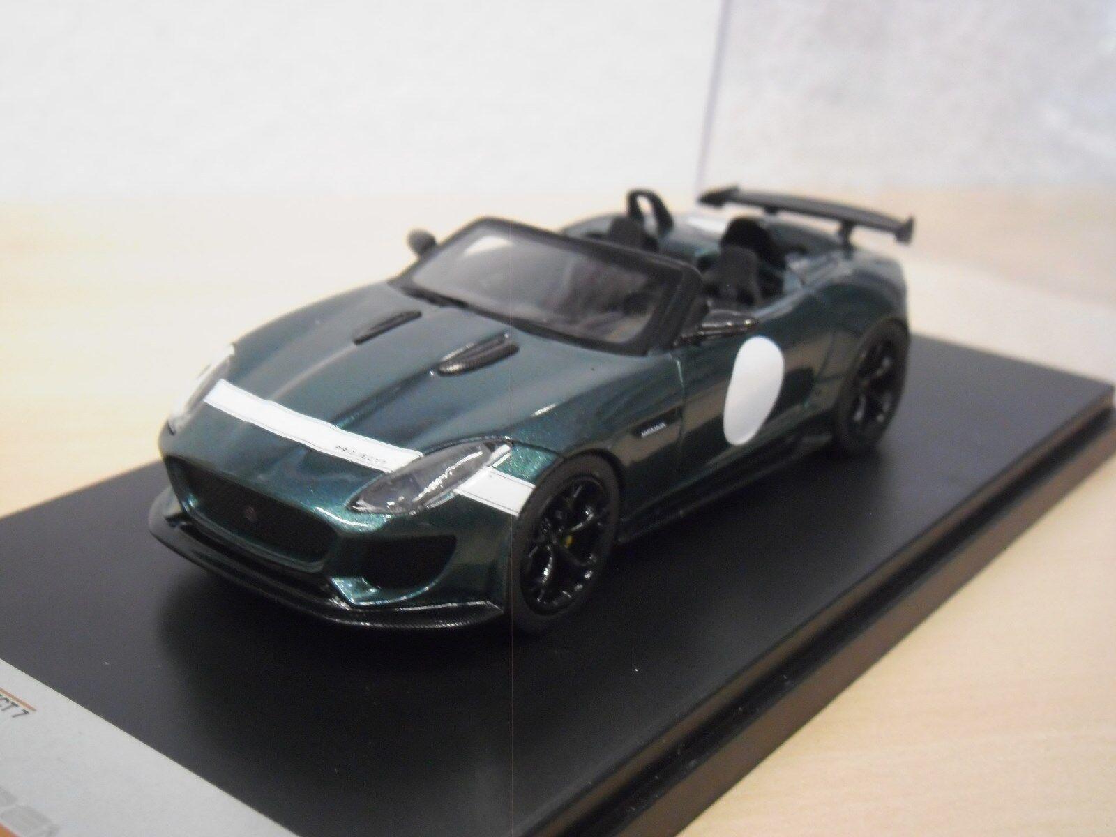 Jaguar F-TYPE Project 7-Vert foncé métallisé-Premium-X pr0482 - 1 43
