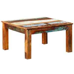 vidaXL-Coffee-Table-Square-Reclaimed-Vintage-Furniture-Modern-Living-Room