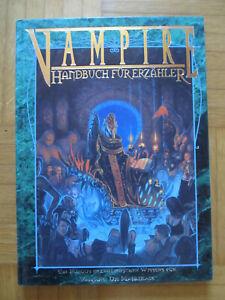 Vampire Die Maskerade – Handbuch für Erzähler - Deutsch Hardcover – Feder & Schw