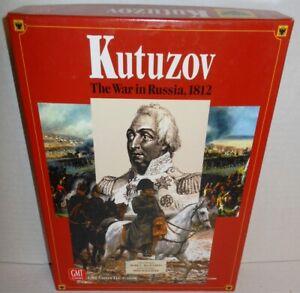 Box-BOARD-WAR-GAME-Kutuzov-War-in-Russia-1812-GMT-op-2008-Napoleonic-Wars-System