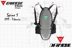 NEW-DAINESE-SPINE-1-BACK-PROTECTOR-TITANIO-SIZE-L