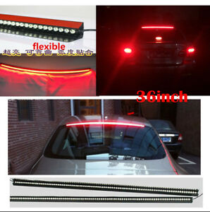 36 red led car suv rear windhield third high break tail light bar image is loading 36 039 039 red led car suv rear aloadofball Image collections