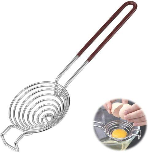 Egg Separator Filter Egg Whites and Yolks Strainer Divider Gadget Cooking Tools