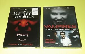 HORROR-DVD-Lot-VAMPIRES-and-Other-Stereotypes-PERFECT-CREATURE-RARE-OOP