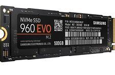 Samsung 960 EVO 500GB M.2 NVMe PCI-e 3.0 x4 MLC Internal SSD - MZ-V6E500BW