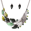 Women-Chunky-Fashion-Crystal-Bib-Collar-Choker-Chain-Pendant-Statement-Necklace thumbnail 58