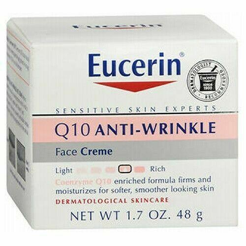 Eucerin Q10 Anti-Wrinkle Sensitive Skin Creme for sale..