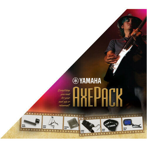 Includes Tuner Stand Strap Tuner Yamaha Axe Pack Guitar Accessory Kit Picks