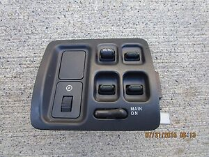 99 01 honda cr v ex lx 2 0l i4 mpi driver left side for 1997 honda crv power window switch
