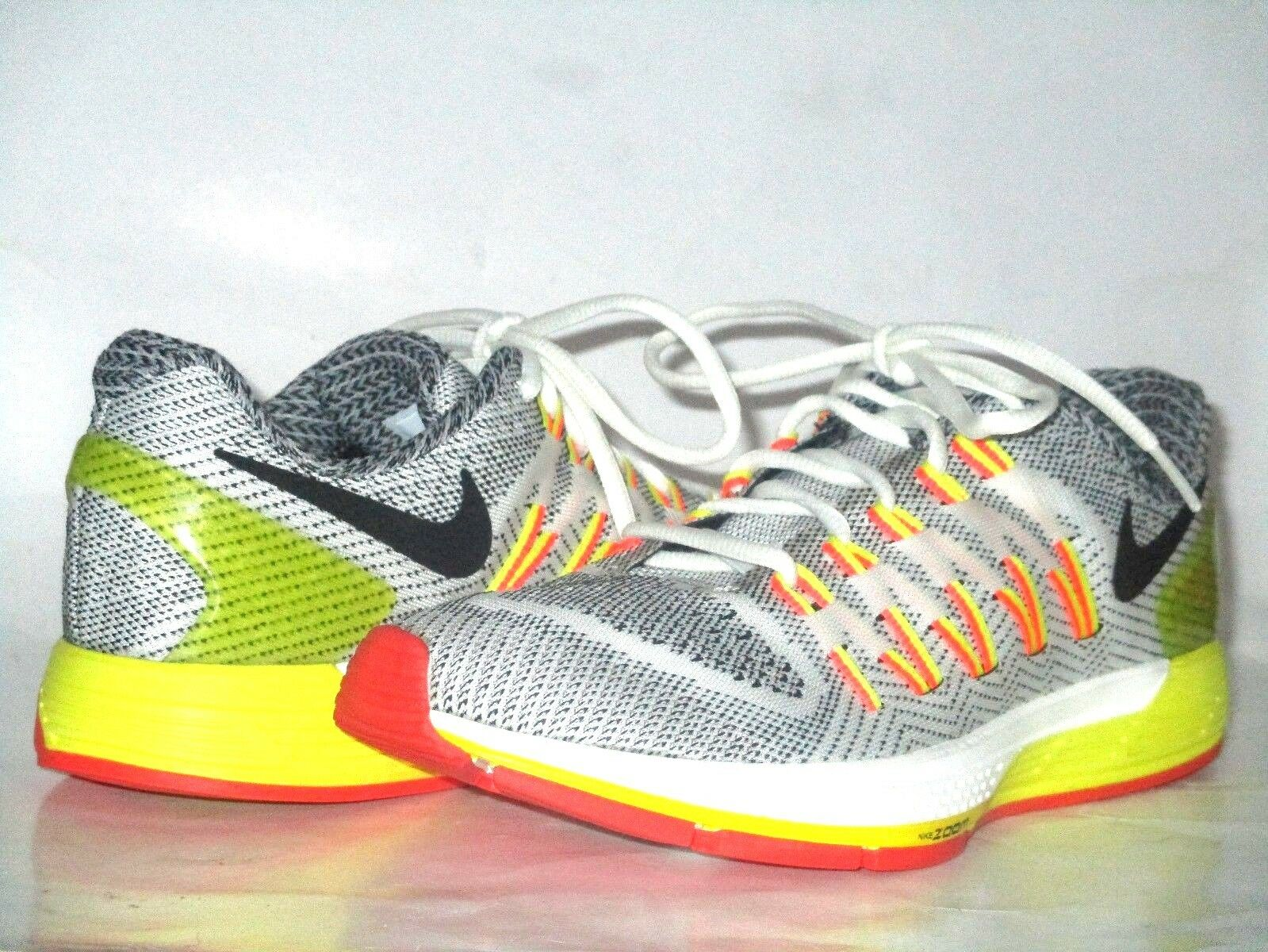 Men's shoes Nike Air Zoom Odyssey Black White orange Yellow 749338-101 Size 7.5 M