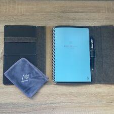 Rocketbook Fusion Smart Notebook Calendar Goals To Do With Case Frixion Pen Eraser