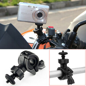 motorcycle bicycle bike handlebar mount holder for mobius. Black Bedroom Furniture Sets. Home Design Ideas
