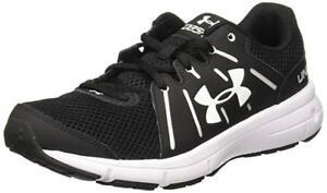 4778a291f64 Under Armour Women s UA Dash RN 2 D Black White Athletic Shoes Size ...