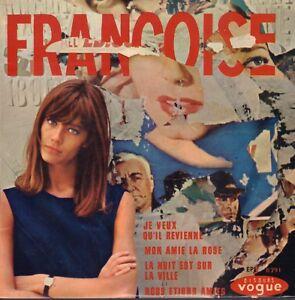 FRANCOISE-HARDY-Je-Veux-Qu-039-il-Revi-1964-VINYL-EP-7-034-FRANCE