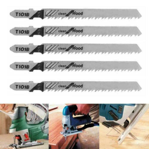 1pcs T101B Jigsaw Blades Wood Cutting Softwood /& Hardwood Fits for Bosch Ho W2Y2
