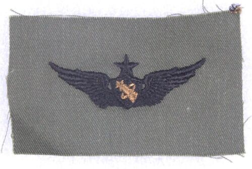 subdued Astronaut Wings Senior Cloth Army Badge