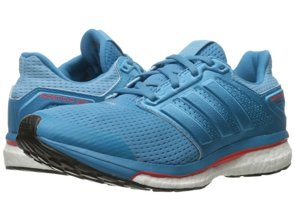 Adidas Supernova Glide Femme fonctionnement chaussures trainer sky Bleu BB4041 30% OFF