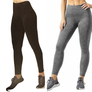 Mondetta Women's Active High Waisted Leggings Comfort Side Pockets Style 1428002