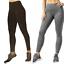 miniatuur 1 - Mondetta Women's Active High Waisted Leggings Comfort Side Pockets Style 1428002