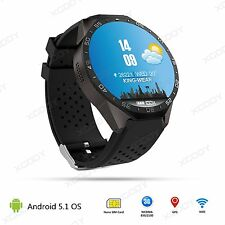 Android 5.1 3G Smart Watch KW88 Orologio Intelligente Quad-core 4GB WiFi GPS SIM