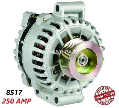250 AMP 8517 Alternator Ford Mustang Shelby GT500 High Output HD Hairpin  Perform | eBay