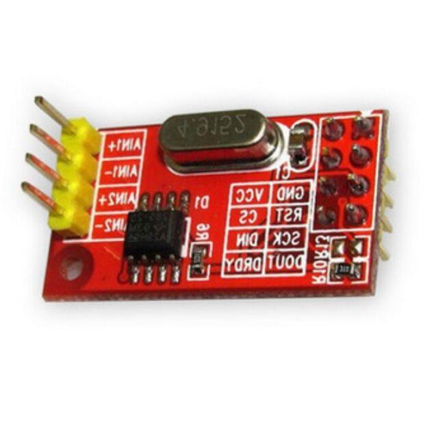 AD7705 Dual 16-bit ADC Data Acquisition Module SPI Precise TM7705 TOP