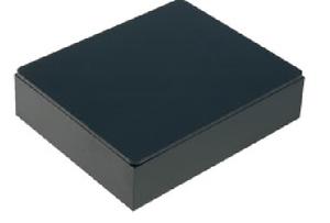 41x51x13mm ABS-98-B en plastique noir Projet Boîte//Coffret avec couvercle