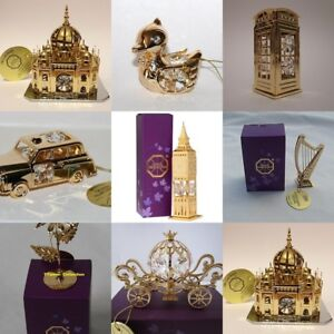 Gold Plated With Swarovski Crystals Assorted Boxed Gifts By Crystal ...