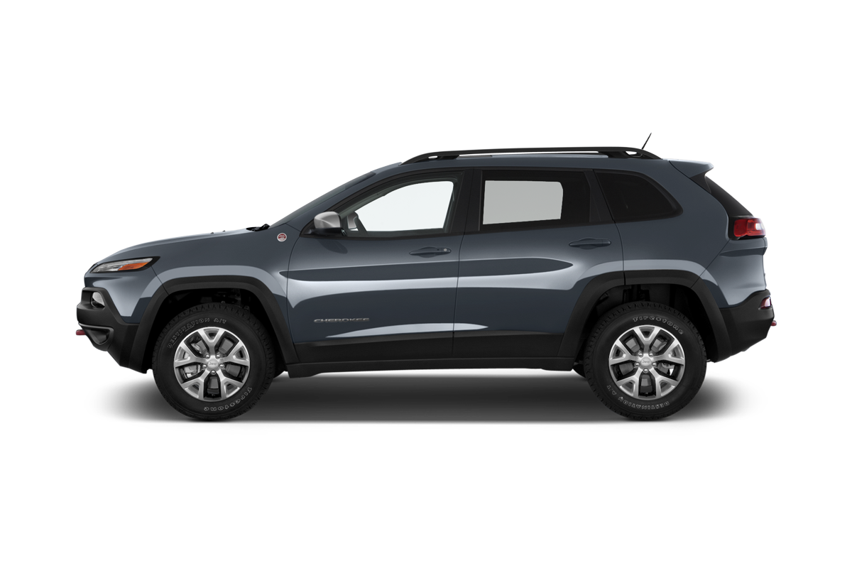 Jeep Cherokee side view