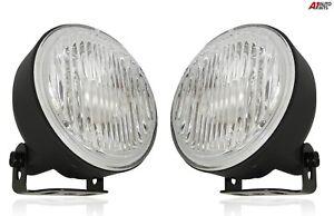 Universal-12v-Auto-Van-Rund-Klar-Nebelscheinwerfer-Lampe-100mm-E4-Neu