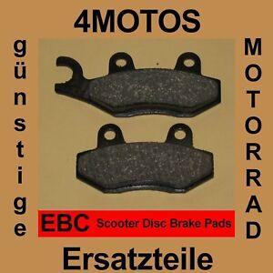 FIT ADLY  Predator 50//100  EBC FRONT ORGANIC BRAKE PADS