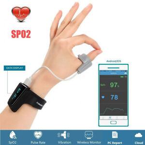 Sleep Oxygen Monitor Wrist Pulse Oximeter With Vibration