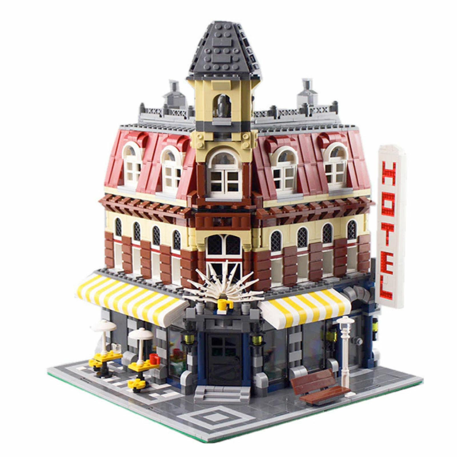 LEGO COMPATIBILE Technic 10182 Cafe Corner - set City Creator New Creator 2133Pc