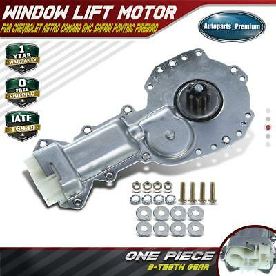 A-Premium Power Window Lift Motor for Chevrolet Camaro Astro GMC Safari Pontiac Firebird Front Driver or Passenger Side