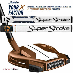 New-2019-TaylorMade-Spider-X-Putter-Copper-White-Custom-Length-Lie-amp-Grip